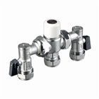 22mm Thermostatic Mixing Valve TMV2/3 with ISO Unions