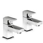 Bath Pillar Taps (Pair) ITA041