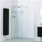 8mm Wetroom Glass Panel with Exposed Profile 900mm x 2000mm