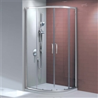 8mm Quadrant Shower Enclosure Double Door 800mm x 800mm