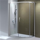 8mm Offset Quadrant Shower Enclosure Single Door 760mm x 900mm
