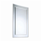 Plain Mirror with Bevelled Border 405mm x 595mm