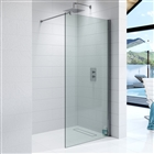 10mm Wetroom Glass Panel 760mm