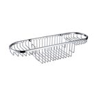 Bristan Large Wall Fixed Wire Basket Chrome