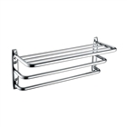 Bristan Tier Towel Shelf Chrome