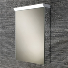 HiB Spectrum Single Door Cabinet with Charging Socket and LED Lighting 500mm x 700mm