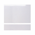DLX 800mm End Bath Panel with Plinth 15mm Thick