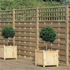 "Europa Montreal Fence Panel 5'11"" x 3'10? (180cm x 116cm) FSC"